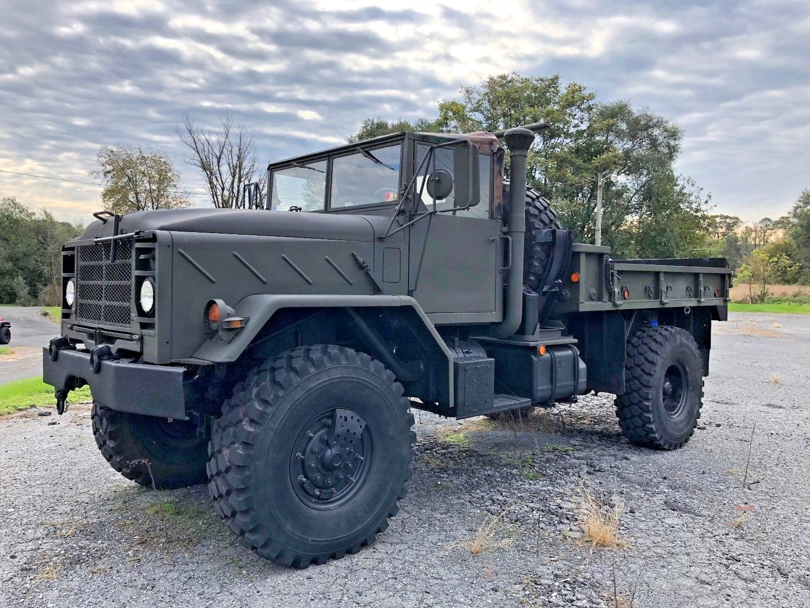 low miles 1991 BMY M931 A2 5 Ton Bobbed Military for sale