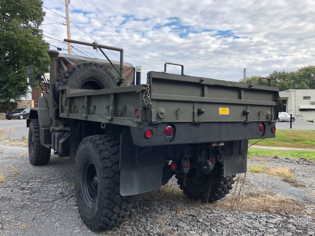 low miles 1991 BMY M931 A2 5 Ton Bobbed Military