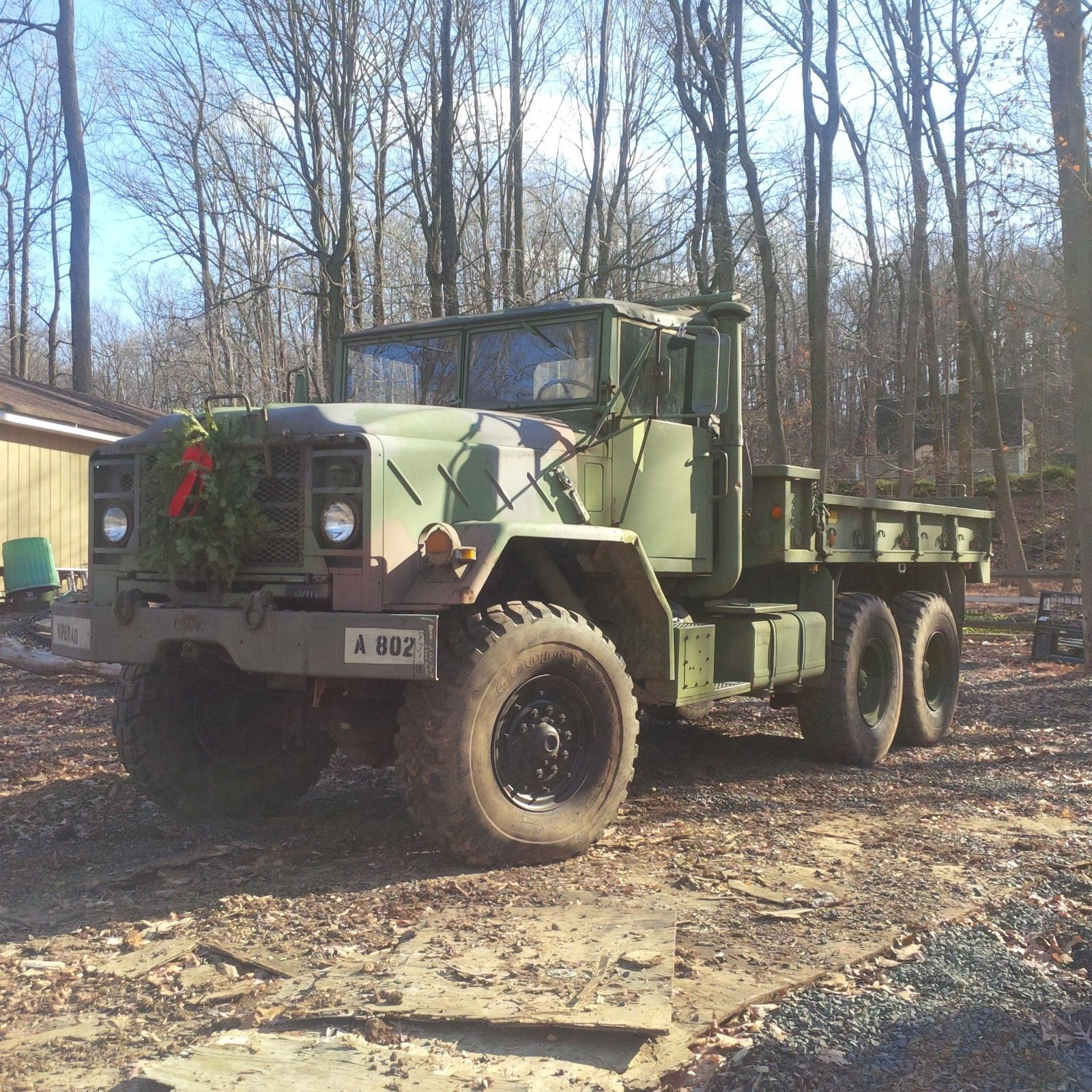 needs service 1987 AM General M923a1 6×6 military for sale