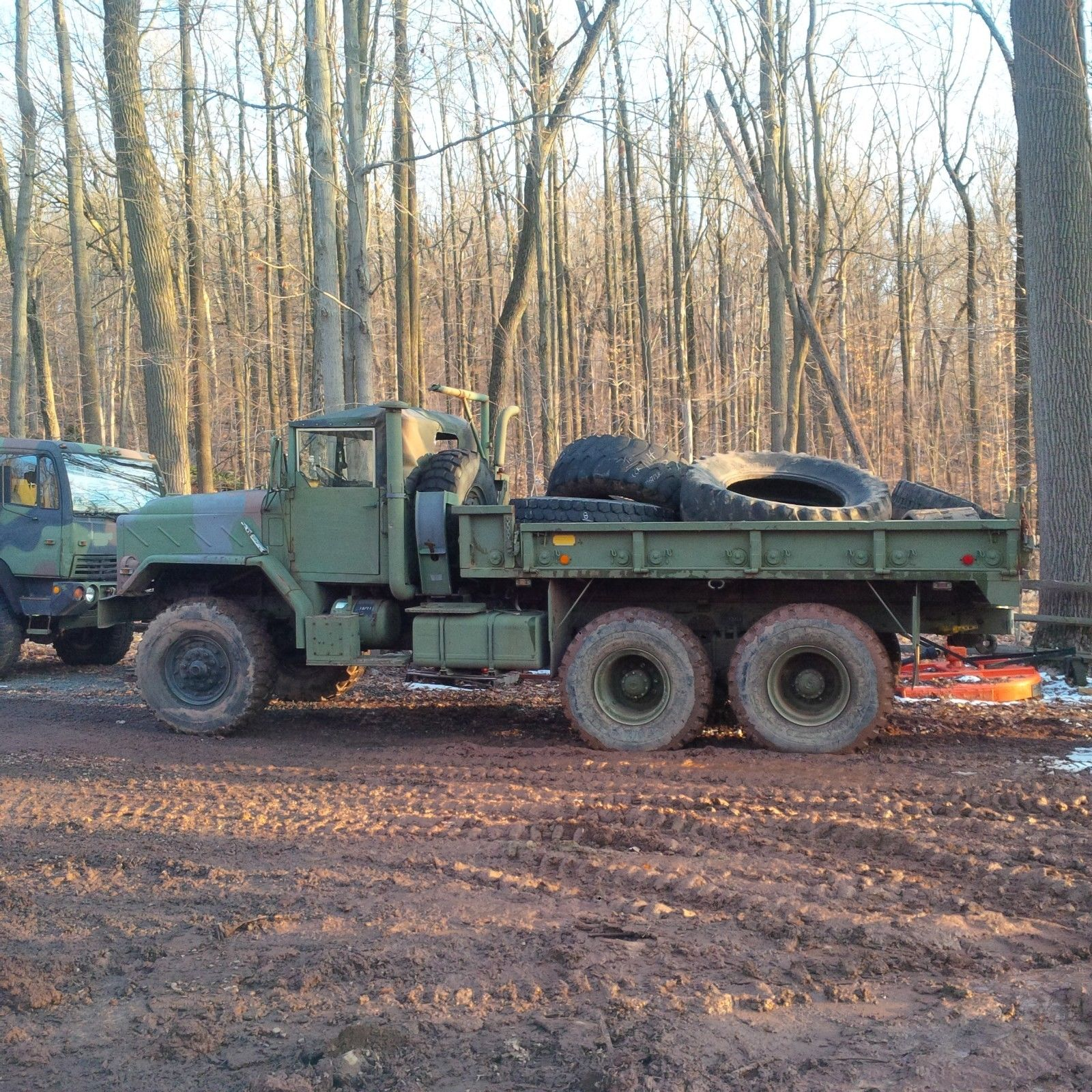 needs service 1987 AM General M923a1 6×6 military