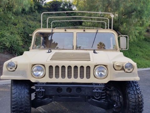new fluids 1986 AM General M998 H1 HUMVEE military for sale