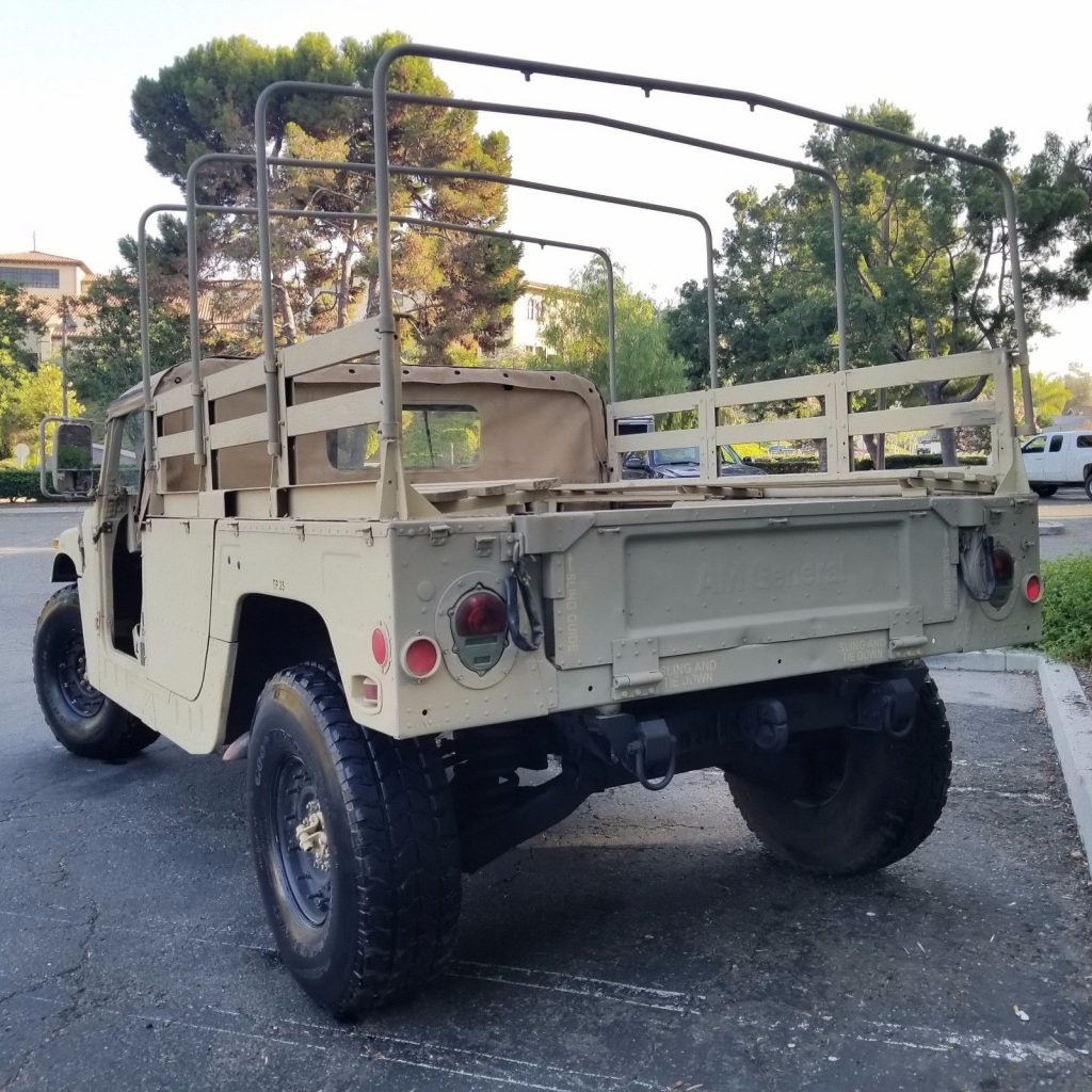 new fluids 1986 AM General M998 H1 HUMVEE military