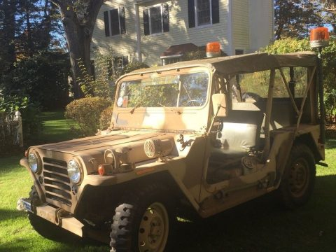 older restoration 1966 Ford M151A1 military for sale