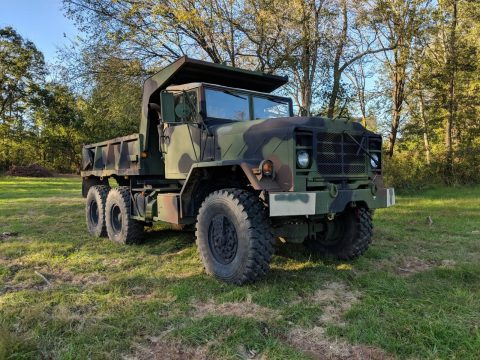 overhauled 1992 M929a2 Military Dump Truck for sale