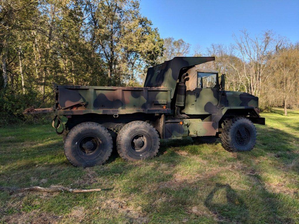 overhauled 1992 M929a2 Military Dump Truck