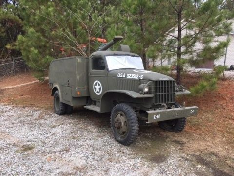 rare 1942 Chevrolet pole truck military for sale