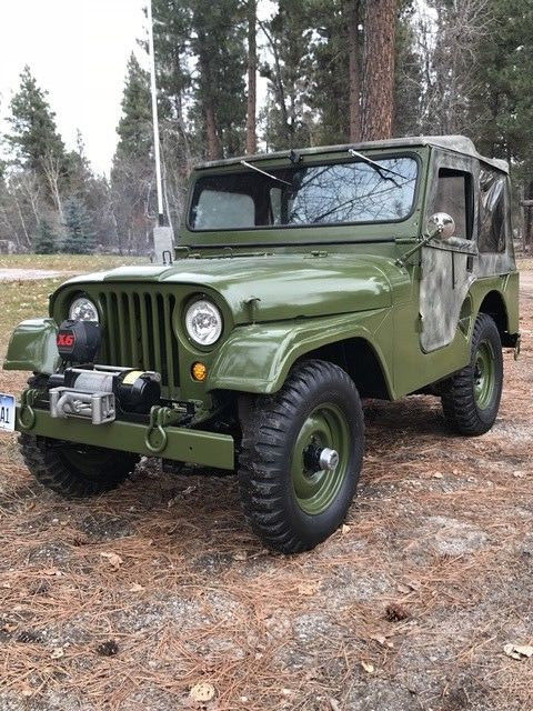 restored 1952 Willys M38a1 Jeep military for sale