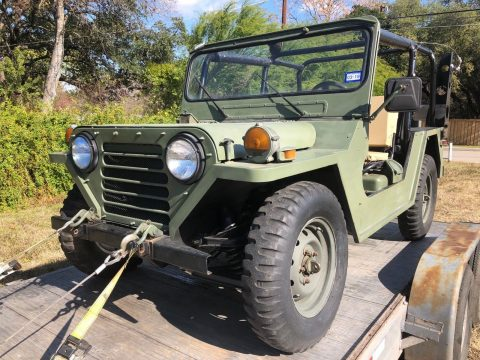 Restored 1987 Jeep M151 A2 military for sale