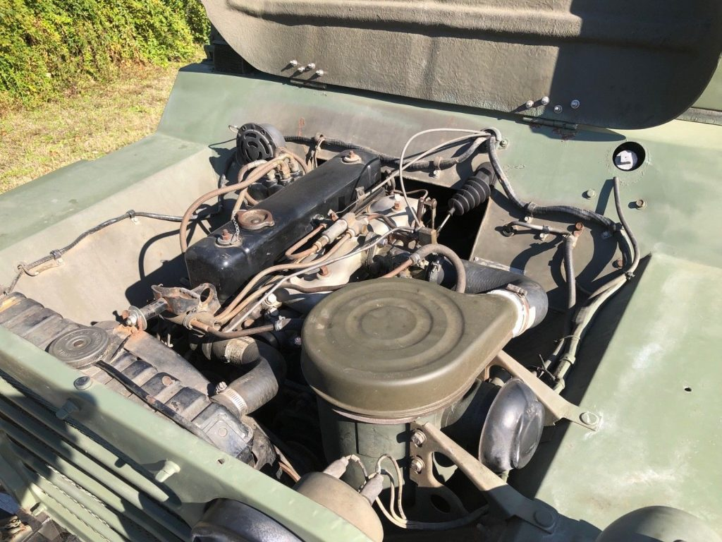 Restored 1987 Jeep M151 A2 military