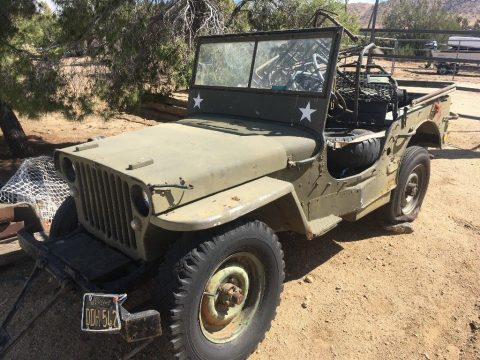 rust free 1945 Ford gpw army Jeep military for sale