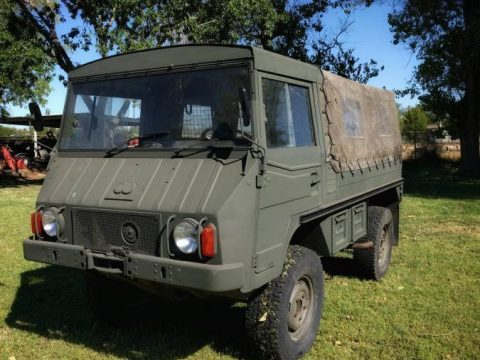 solid 1974 Pinzgauer 710M military for sale