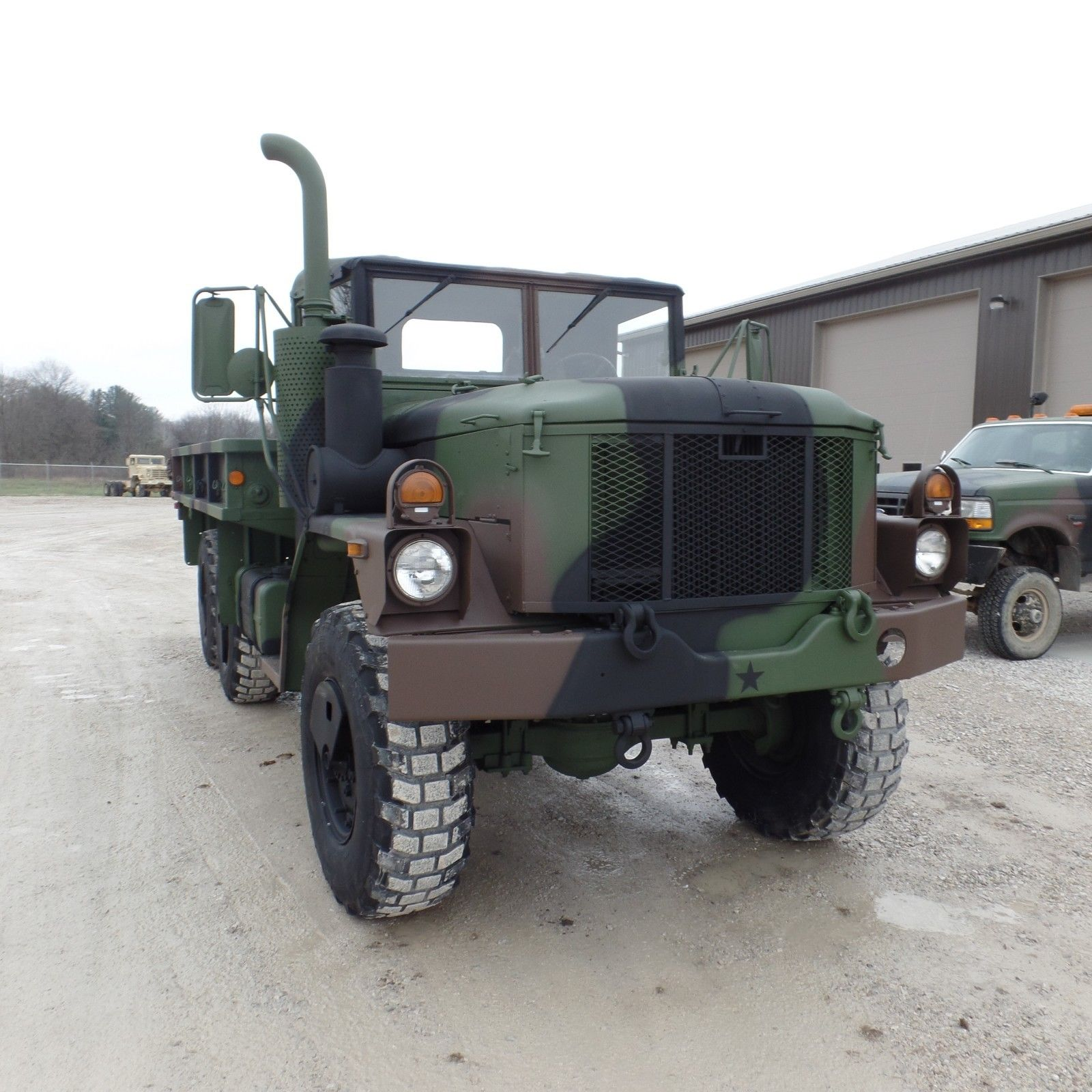 super clean 1998 BMY Military Cargo Truck for sale