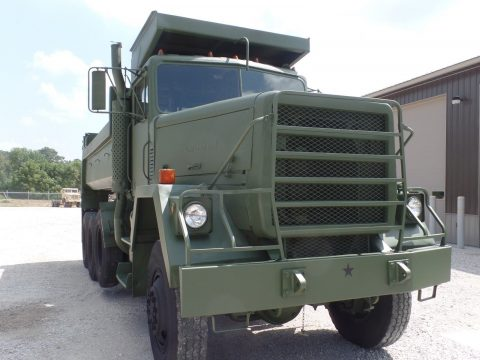 very low miles 1979 AM General M917 dump truck for sale