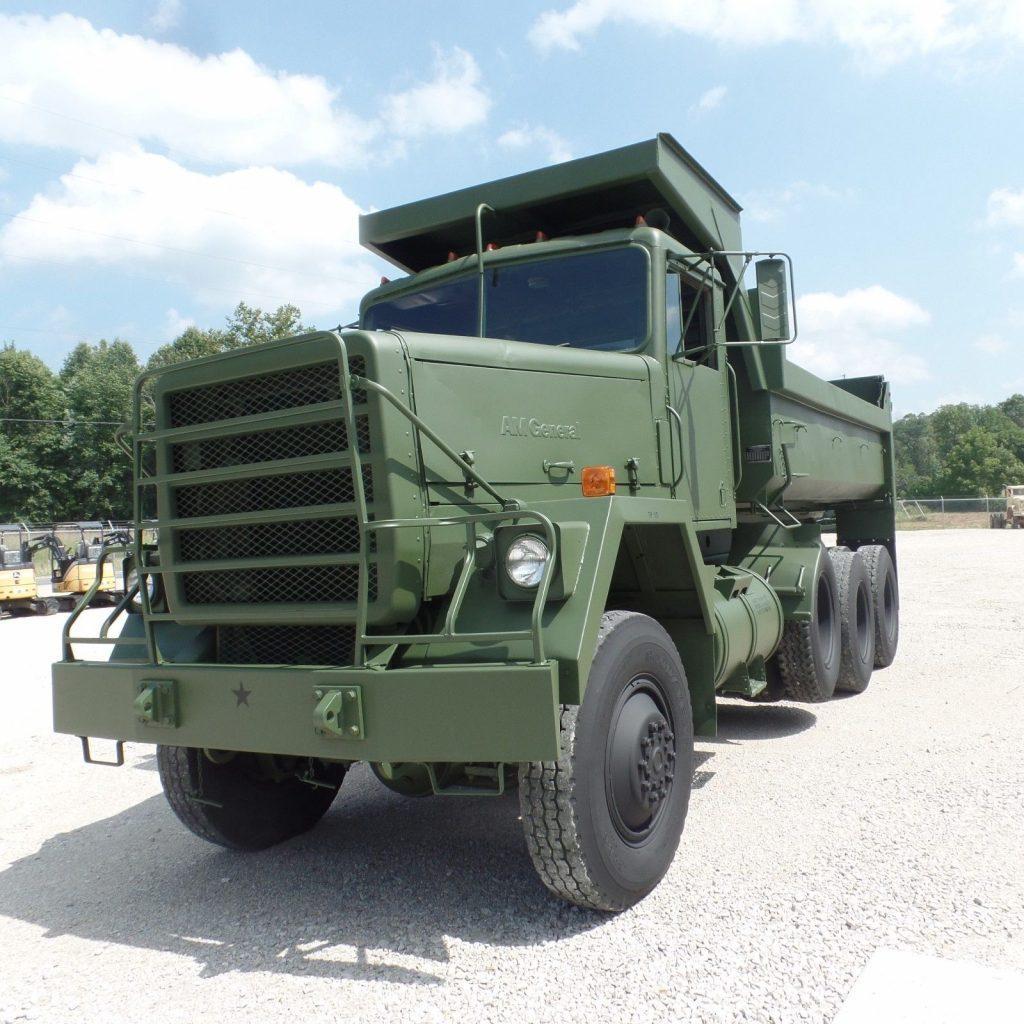 very low miles 1979 AM General M917 dump truck