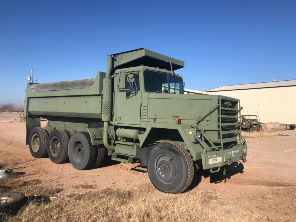 very solid 1979 AM General M917 dump truck military