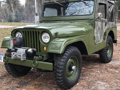 Absolutely excellent 1952 Willys M38a1 Jeep restored military for sale