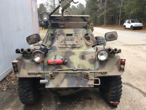 blast to drive 1958 Daimler British Ferret 4×4 Armored Scout car military for sale