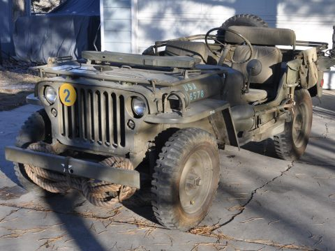 garaged 1942 GPW Military Jeep military for sale