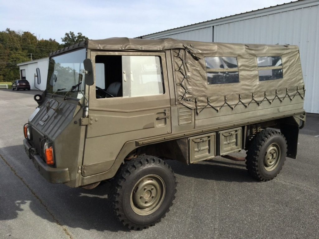 low miles 1971 Steyr Puch Pinzgauer military