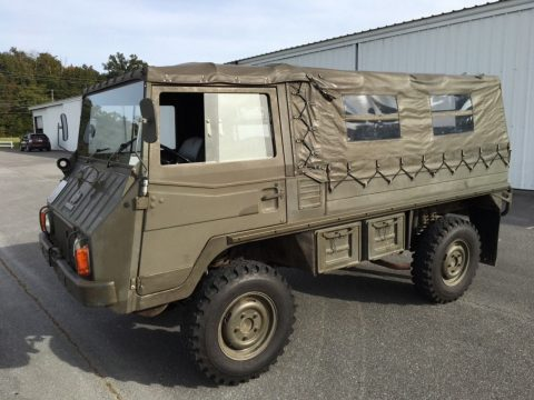 low miles 1971 Steyr Puch Pinzgauer military for sale