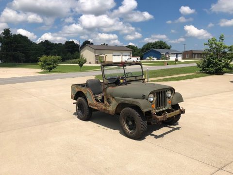 needs restoration 1952 Jeep M38A1 military for sale