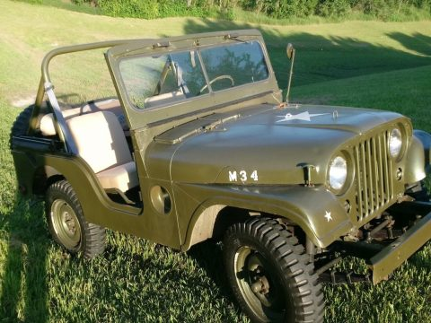ready to go 1952 Willys MB 38 military for sale
