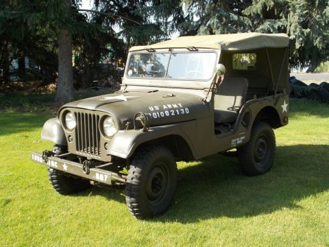 restored 1954 Willys M38A1 military for sale