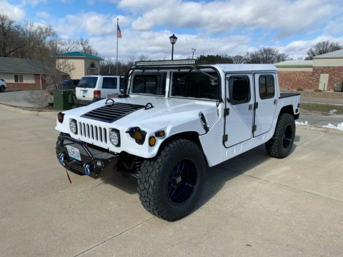 custom 1990 Hummer H1 military for sale