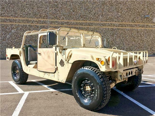 Excellent shape 1985 AM General Humvee H1 military for sale