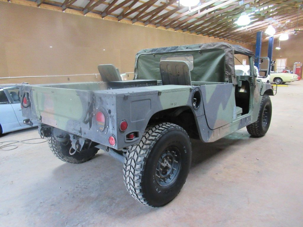 extra generator 1987 Hummer H1 military