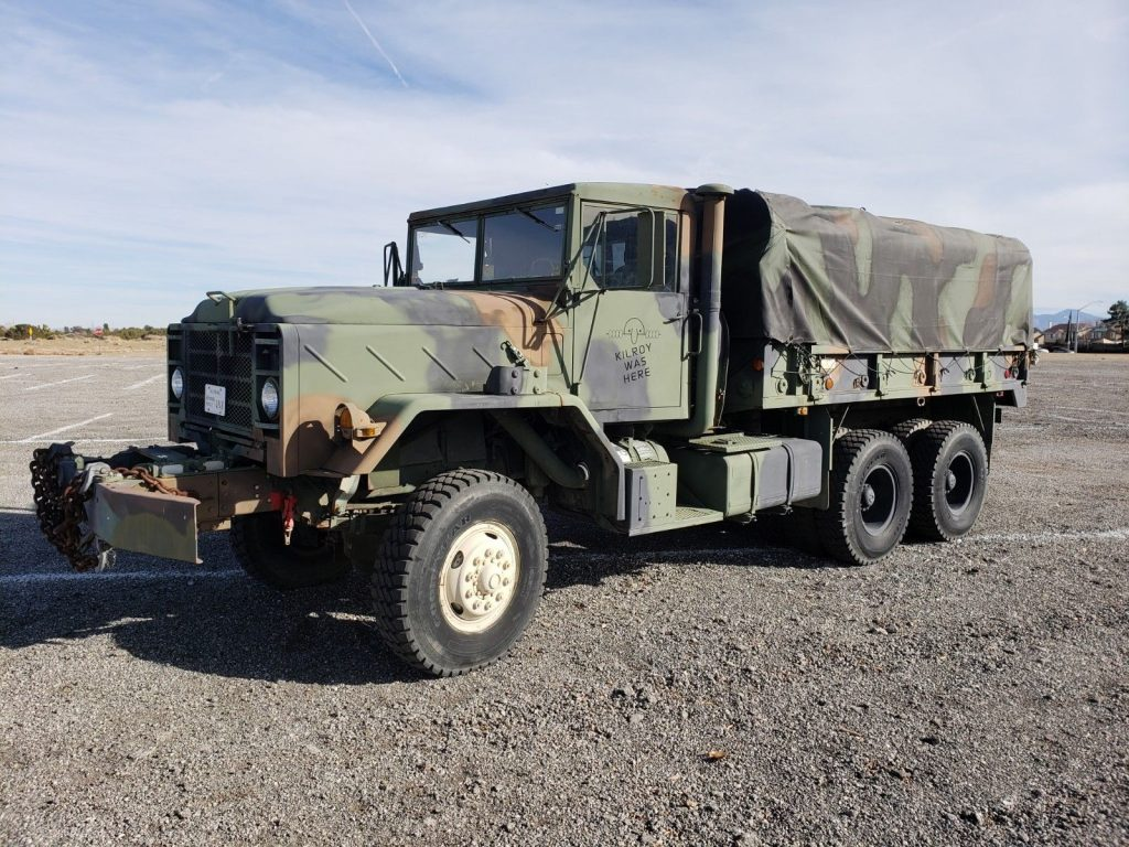 great running 1983 AM General M925 6×6 Military