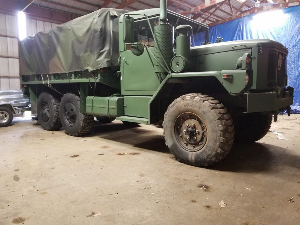 low mileage 1993 AM General M35 A3 2 1/2 Ton 6×6 military