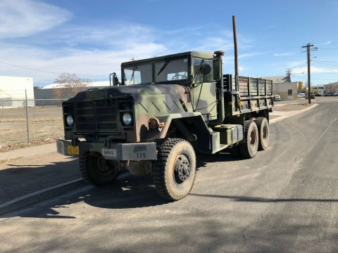 low miles 1984 AM General M923 5 ton 6×6 military for sale