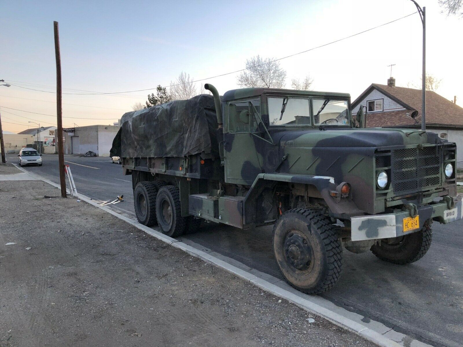 low miles 1984 AM General M923 5 ton 6×6 military