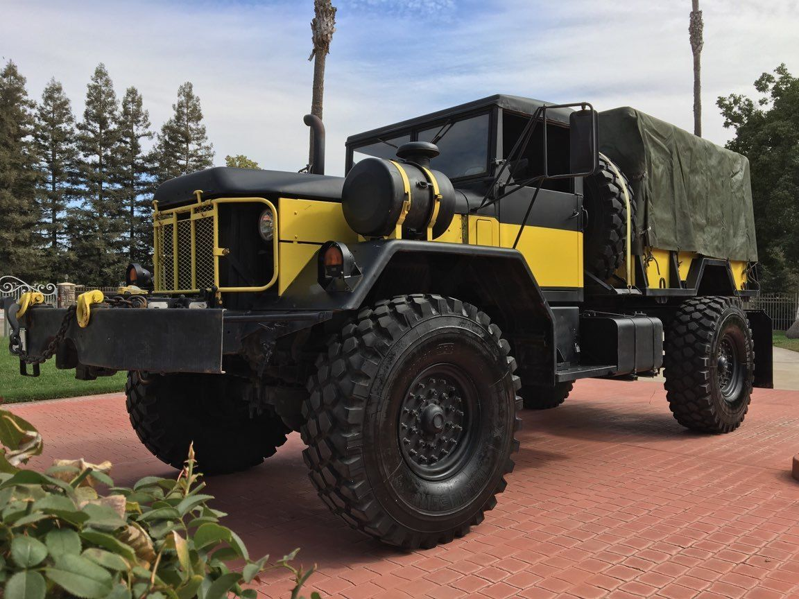 monster 1970 Kaiser JEEP 5 TON Truck & Trailer Military for sale
