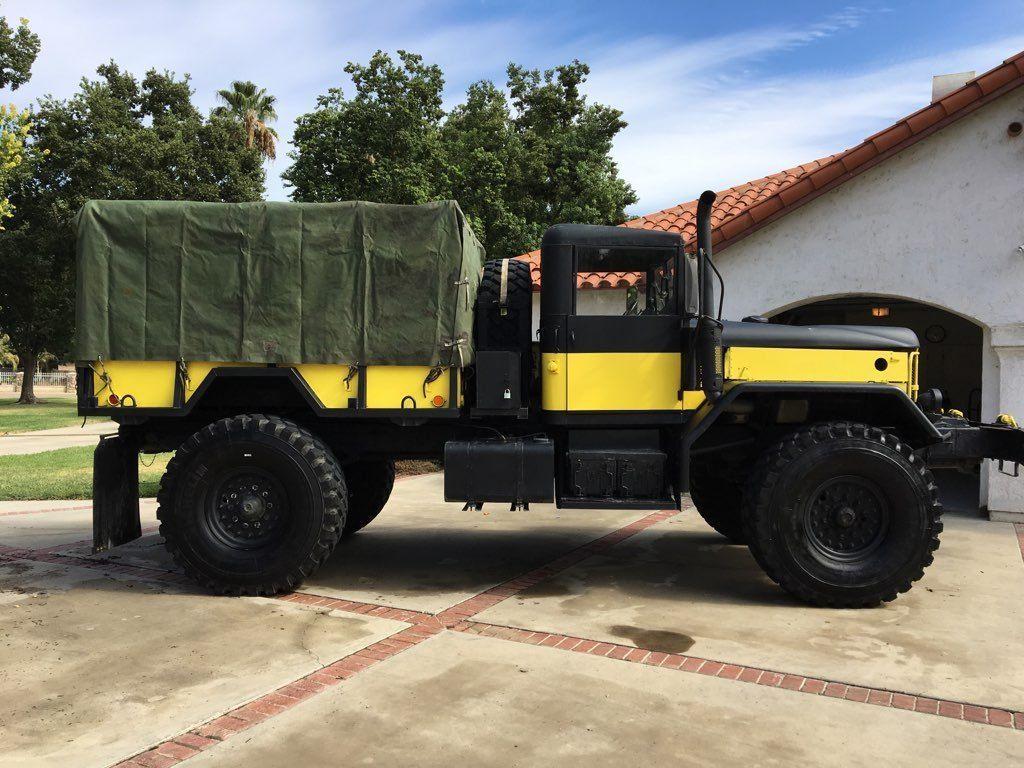 monster 1970 Kaiser JEEP 5 TON Truck & Trailer Military