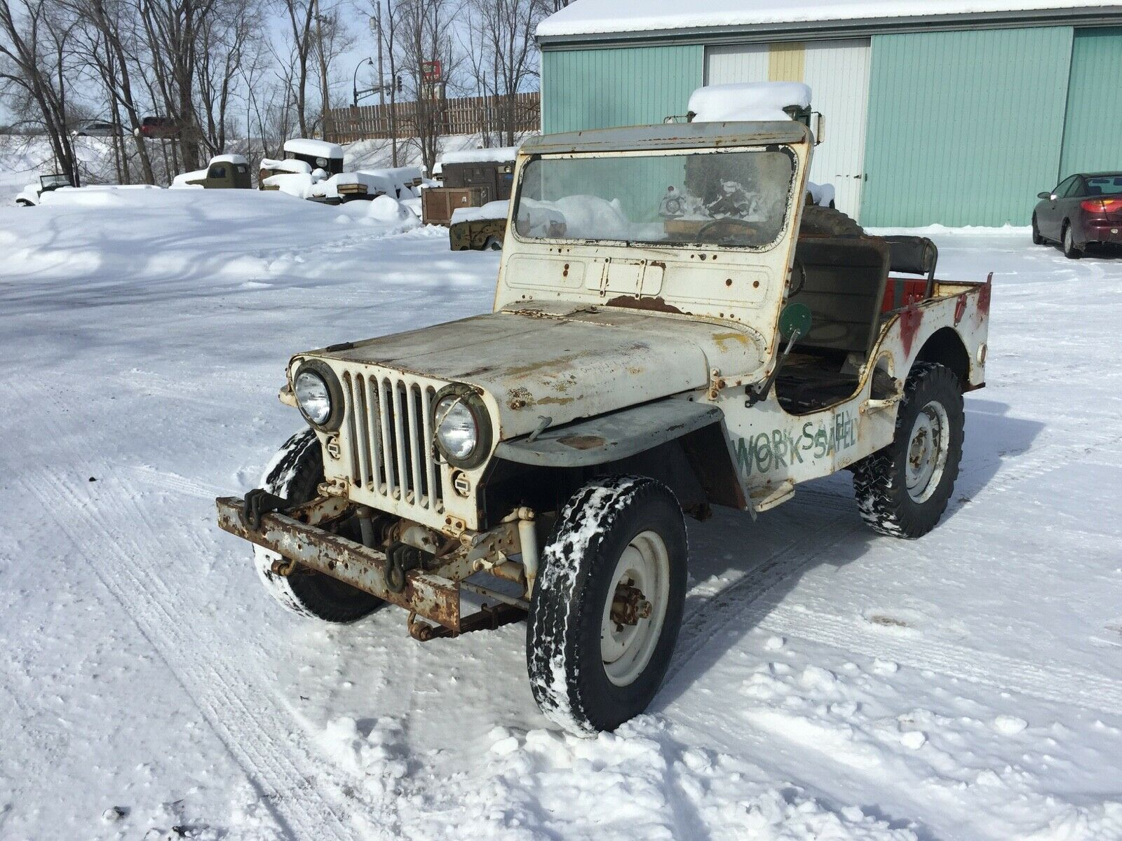 new parts 1951 Jeep Willys M38 Korean War military for sale