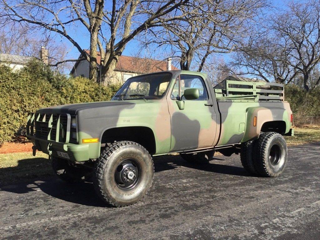 new parts 1986 Chevrolet K40 M1028 Silverado CUCV Military