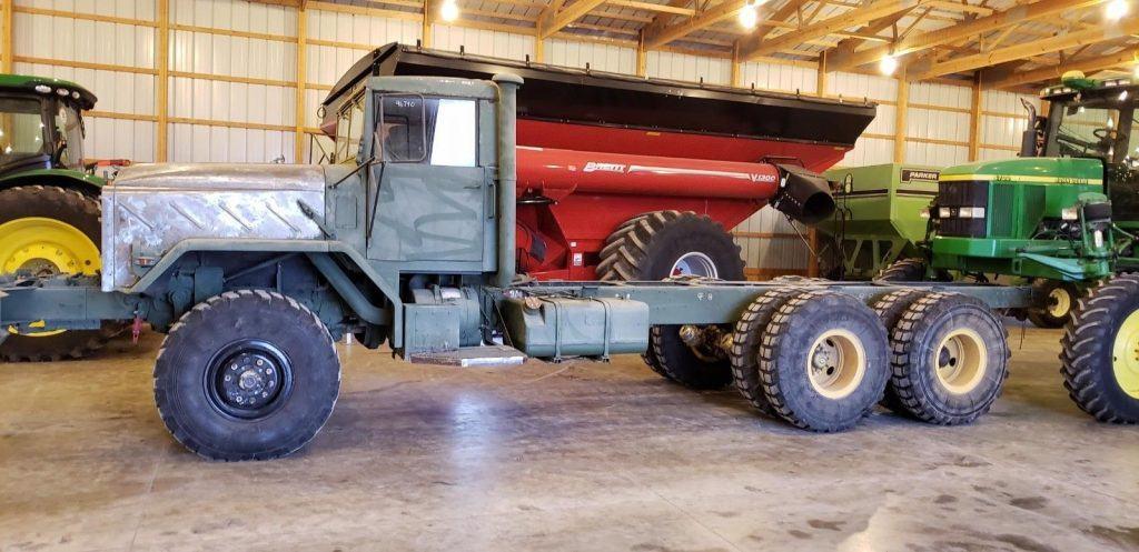redone interior 1991 BMY M928 6×6 military