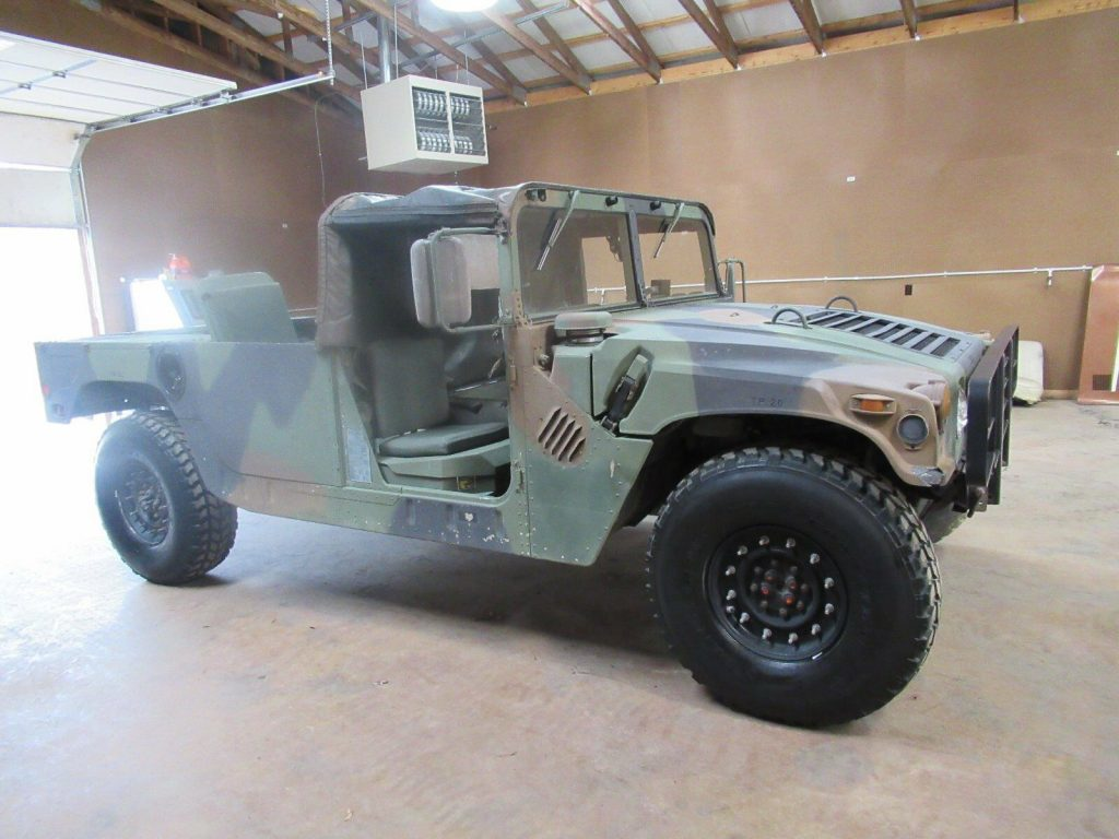 special power generator 1987 Hummer H1 original military