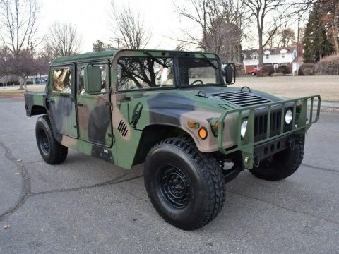 strong 1988 Hummer M988 Humvee 4×4 military for sale