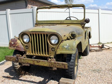 unrestored 1953 M38a1 Willys MD Military Jeep for sale