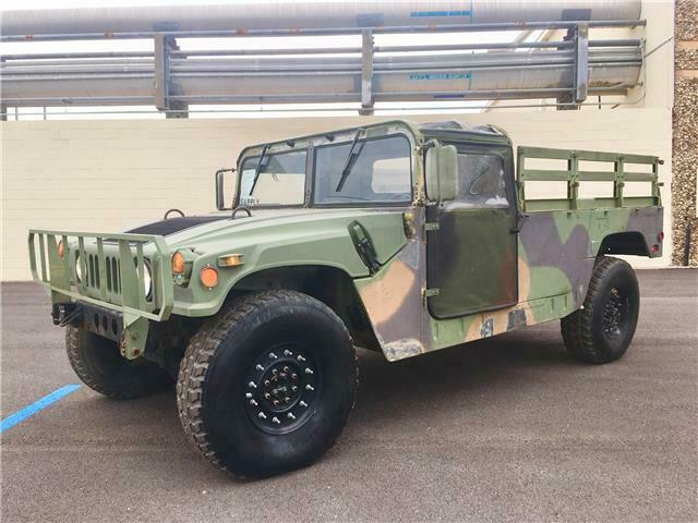 well serviced 1988 AM General Humvee H1 military