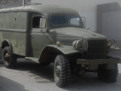 WWII classic 1941 Dodge WC18 Ambulance Power Wagon military for sale