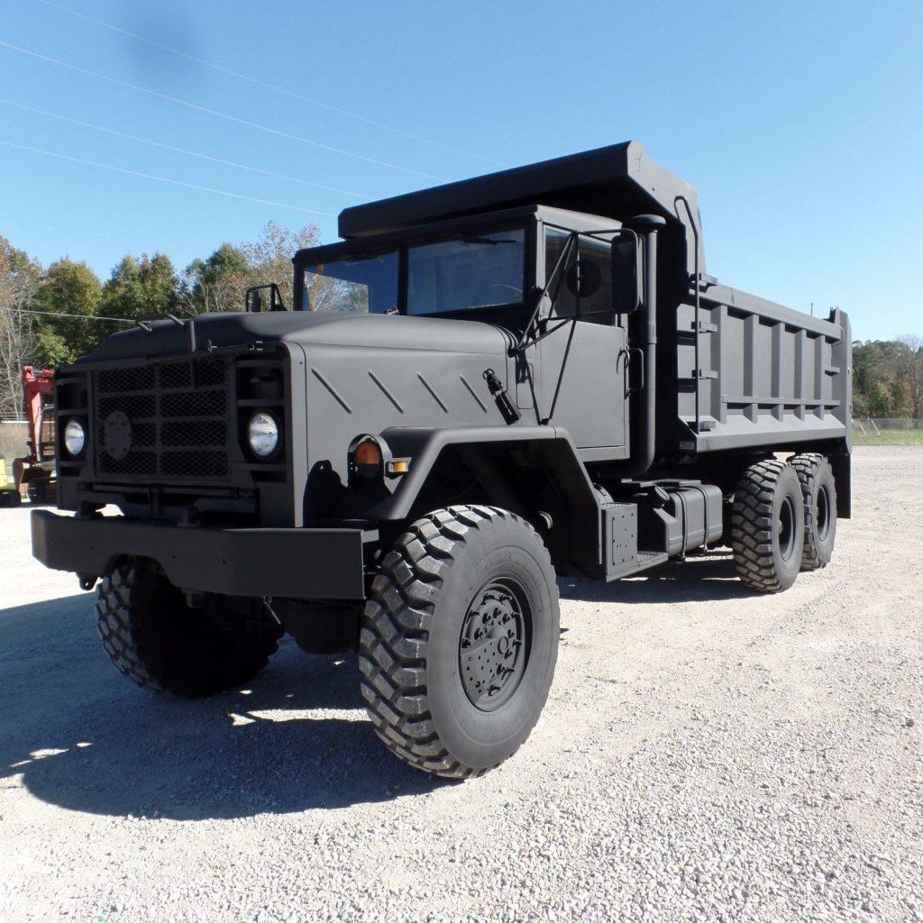 clean 1990 AM General M934a2 Military dump Truck