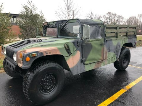 low miles 1998 AM General Hmmwv M998 4×4 military for sale