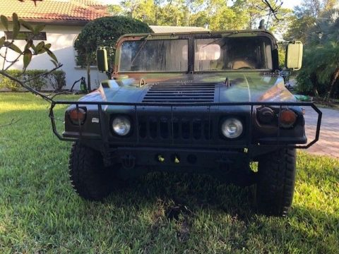 low miles 2001 AM General Humvee M1123 military for sale