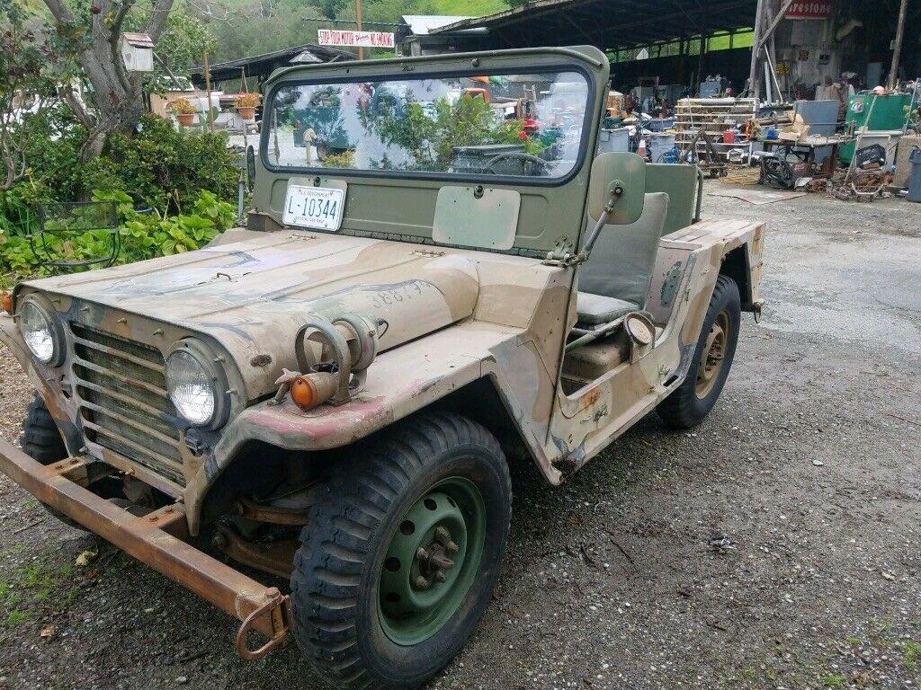 original 1968 Jeep M151A1 Military