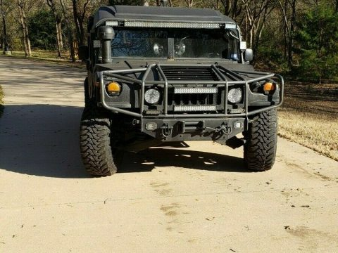 reinforced roof 1993 AM General M998 H1 Humvee military for sale