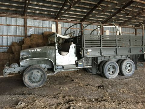 restored 1945 GMC military truck for sale